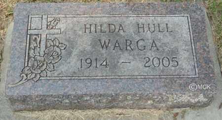 WARGA, HILDA - Minnehaha County, South Dakota   HILDA WARGA - South Dakota Gravestone Photos