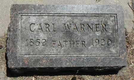 WARNER, CARL - Minnehaha County, South Dakota | CARL WARNER - South Dakota Gravestone Photos