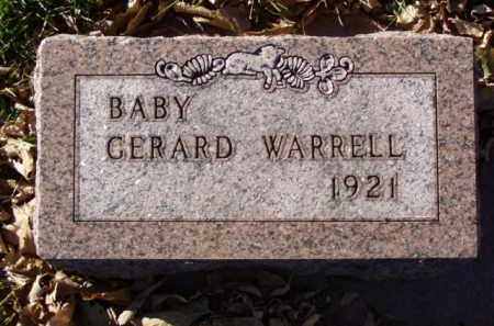 WARRELL, GERARD - Minnehaha County, South Dakota | GERARD WARRELL - South Dakota Gravestone Photos