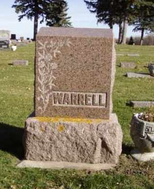WARRELL, MARY L. - Minnehaha County, South Dakota | MARY L. WARRELL - South Dakota Gravestone Photos