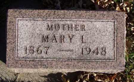 WARRELL, MARY L. - Minnehaha County, South Dakota | MARY L. WARRELL - South Dakota Gravestone Photos