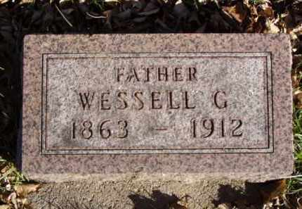WARRELL, WESSELL G. - Minnehaha County, South Dakota | WESSELL G. WARRELL - South Dakota Gravestone Photos