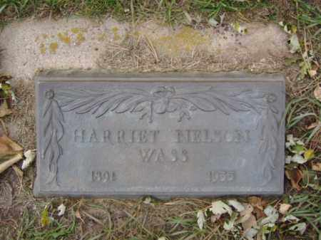 NELSON WASS, HARRIET - Minnehaha County, South Dakota | HARRIET NELSON WASS - South Dakota Gravestone Photos