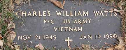 WATTS, CHARLES WILLIAM (VIETNAM) - Minnehaha County, South Dakota | CHARLES WILLIAM (VIETNAM) WATTS - South Dakota Gravestone Photos
