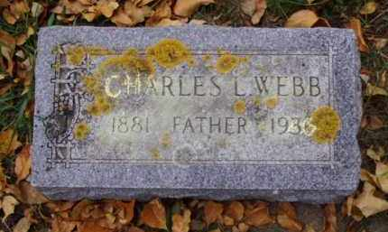 WEBB, CHARLES L. - Minnehaha County, South Dakota   CHARLES L. WEBB - South Dakota Gravestone Photos