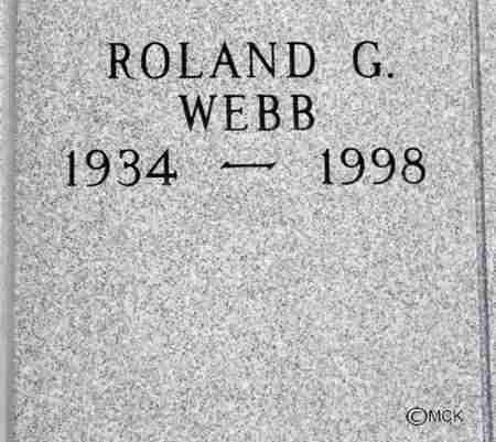 WEBB, ROLAND G. - Minnehaha County, South Dakota   ROLAND G. WEBB - South Dakota Gravestone Photos