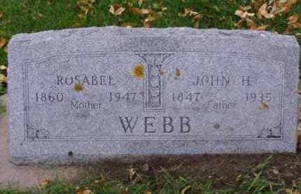 WEBB, ROSABEL - Minnehaha County, South Dakota | ROSABEL WEBB - South Dakota Gravestone Photos
