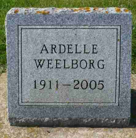 CAPESIUS WEELBORG, ARDELLE - Minnehaha County, South Dakota | ARDELLE CAPESIUS WEELBORG - South Dakota Gravestone Photos