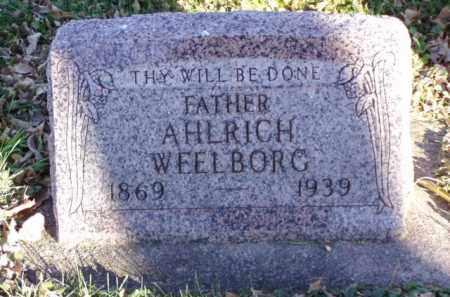 WEELBORG, AHLRICH - Minnehaha County, South Dakota | AHLRICH WEELBORG - South Dakota Gravestone Photos