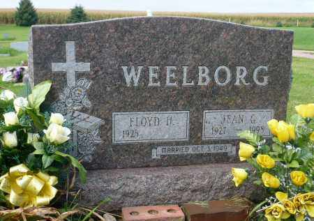 WEELBORG, JEAN G. - Minnehaha County, South Dakota | JEAN G. WEELBORG - South Dakota Gravestone Photos