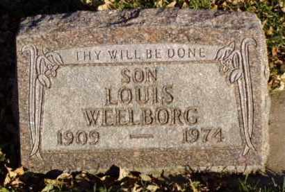WEELBORG, LOUIS - Minnehaha County, South Dakota | LOUIS WEELBORG - South Dakota Gravestone Photos