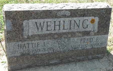WEHLING, FRED - Minnehaha County, South Dakota | FRED WEHLING - South Dakota Gravestone Photos