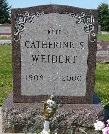 WEIDERT, CATHERINE S. - Minnehaha County, South Dakota | CATHERINE S. WEIDERT - South Dakota Gravestone Photos