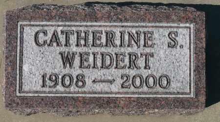 WEIDERT, CATHERINE S. - Minnehaha County, South Dakota | CATHERINE S. WEIDERT - South Dakota Gravestone Photos