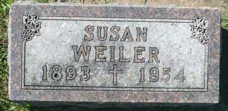 WEILER, SUSAN - Minnehaha County, South Dakota | SUSAN WEILER - South Dakota Gravestone Photos
