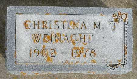 WEINACHT, CHRISTINA M. - Minnehaha County, South Dakota | CHRISTINA M. WEINACHT - South Dakota Gravestone Photos