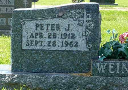 WEINACHT, PETER JOSEPH - Minnehaha County, South Dakota | PETER JOSEPH WEINACHT - South Dakota Gravestone Photos