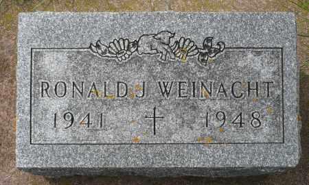 WEINACHT, RONALD J. - Minnehaha County, South Dakota   RONALD J. WEINACHT - South Dakota Gravestone Photos