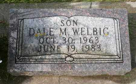 WELBIG, DALE M. - Minnehaha County, South Dakota | DALE M. WELBIG - South Dakota Gravestone Photos