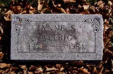 WELBIG, LYNNE S. - Minnehaha County, South Dakota | LYNNE S. WELBIG - South Dakota Gravestone Photos