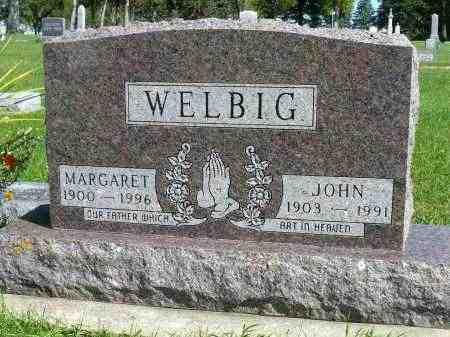 WELBIG, MARGARET - Minnehaha County, South Dakota | MARGARET WELBIG - South Dakota Gravestone Photos