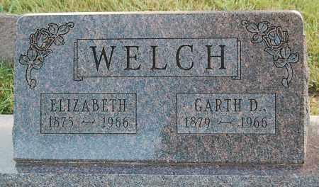 WELCH, ELIZABETH - Minnehaha County, South Dakota | ELIZABETH WELCH - South Dakota Gravestone Photos