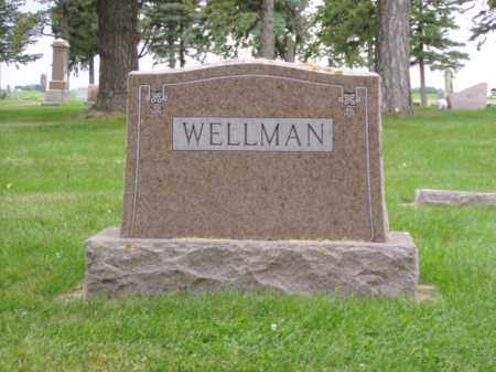 WELLMAN, ALICE M. - Minnehaha County, South Dakota | ALICE M. WELLMAN - South Dakota Gravestone Photos