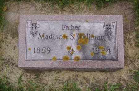 WELLMAN, MADISON S. - Minnehaha County, South Dakota   MADISON S. WELLMAN - South Dakota Gravestone Photos