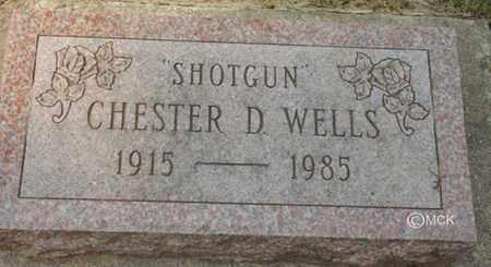 WELLS, CHESTER D. - Minnehaha County, South Dakota | CHESTER D. WELLS - South Dakota Gravestone Photos