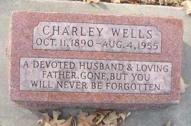 WELLS, CHARLEY - Minnehaha County, South Dakota | CHARLEY WELLS - South Dakota Gravestone Photos