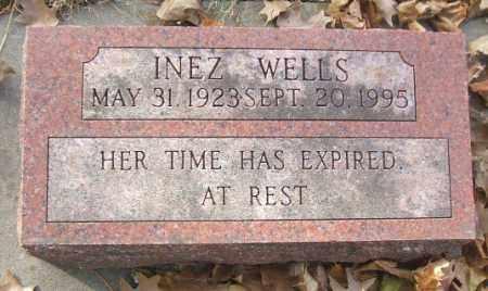 WELLS, INEZ - Minnehaha County, South Dakota | INEZ WELLS - South Dakota Gravestone Photos