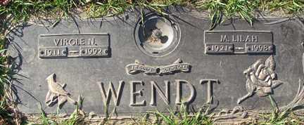 WENDT, M. LILAH - Minnehaha County, South Dakota | M. LILAH WENDT - South Dakota Gravestone Photos