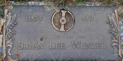 WENZEL, BRIAN LEE - Minnehaha County, South Dakota | BRIAN LEE WENZEL - South Dakota Gravestone Photos