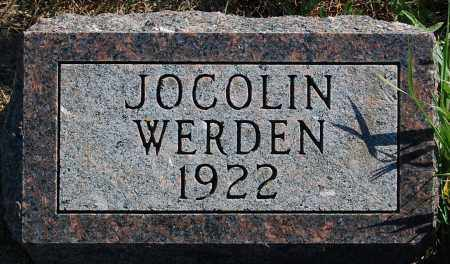 WERDEN, JOCOLIN - Minnehaha County, South Dakota | JOCOLIN WERDEN - South Dakota Gravestone Photos