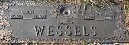 WESSELS, RALPH - Minnehaha County, South Dakota | RALPH WESSELS - South Dakota Gravestone Photos
