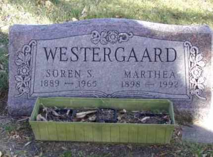 WESTERGAARD, MARTHEA - Minnehaha County, South Dakota | MARTHEA WESTERGAARD - South Dakota Gravestone Photos