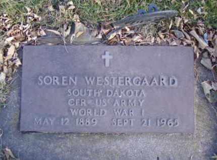 WESTERGAARD, SOREN - Minnehaha County, South Dakota | SOREN WESTERGAARD - South Dakota Gravestone Photos