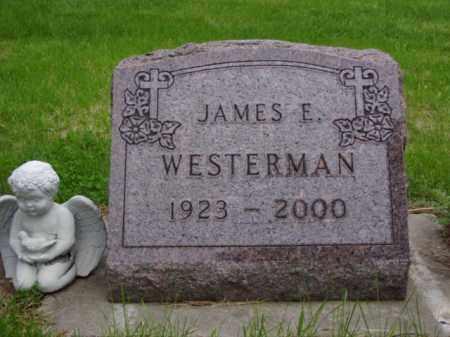 WESTERMAN, JAMES E. - Minnehaha County, South Dakota | JAMES E. WESTERMAN - South Dakota Gravestone Photos