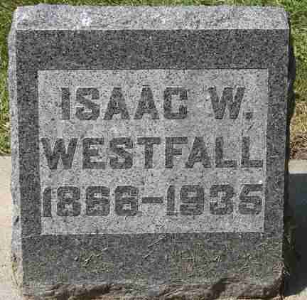 WESTFALL, ISAAC W. - Minnehaha County, South Dakota | ISAAC W. WESTFALL - South Dakota Gravestone Photos