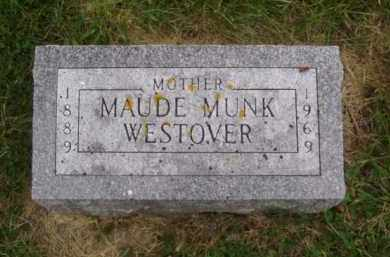 WESTOVER, MAUDE - Minnehaha County, South Dakota | MAUDE WESTOVER - South Dakota Gravestone Photos