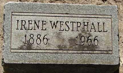 WESTPHALL, IRENE - Minnehaha County, South Dakota | IRENE WESTPHALL - South Dakota Gravestone Photos
