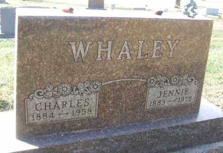 WHALEY, JENNIE - Minnehaha County, South Dakota | JENNIE WHALEY - South Dakota Gravestone Photos