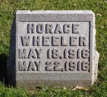 WHEELER, HORACE - Minnehaha County, South Dakota | HORACE WHEELER - South Dakota Gravestone Photos
