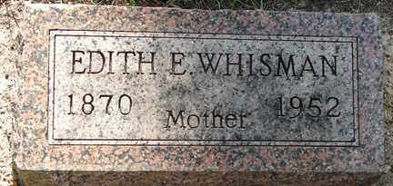 WHISMAN, EDITH E. - Minnehaha County, South Dakota | EDITH E. WHISMAN - South Dakota Gravestone Photos