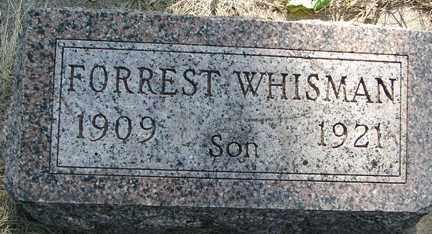 WHISMAN, FORREST - Minnehaha County, South Dakota | FORREST WHISMAN - South Dakota Gravestone Photos