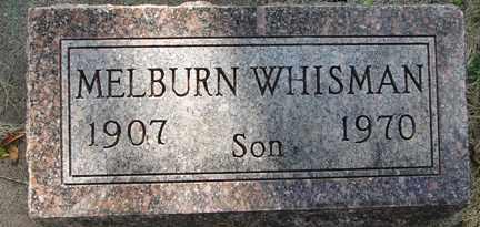 WHISMAN, MELBURN - Minnehaha County, South Dakota   MELBURN WHISMAN - South Dakota Gravestone Photos