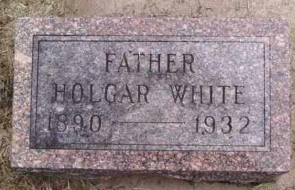 WHITE, HOLGAR - Minnehaha County, South Dakota | HOLGAR WHITE - South Dakota Gravestone Photos