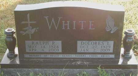 WHITE, RALPH R. - Minnehaha County, South Dakota | RALPH R. WHITE - South Dakota Gravestone Photos
