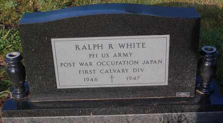 WHITE, RALPH R. (WW II) - Minnehaha County, South Dakota | RALPH R. (WW II) WHITE - South Dakota Gravestone Photos