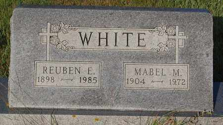 WHITE, REUBEN E. - Minnehaha County, South Dakota | REUBEN E. WHITE - South Dakota Gravestone Photos